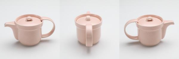 ティーポット 乳ピンク